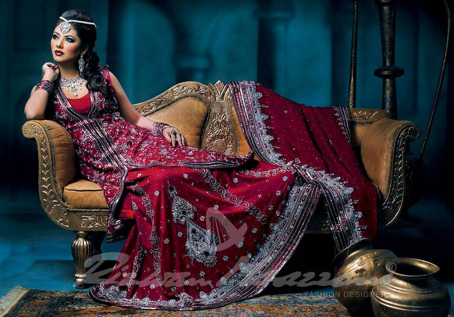 Pakistani Bridal Dresses 2013
